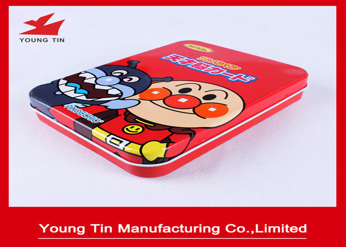 160*120*30mm Tinplate Printed Tin Boxes Rectangular Metal For Gifts Packaging